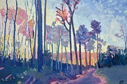 Morning Light by Leila Barton -  sized 35x24 inches. Available from Whitewall Galleries
